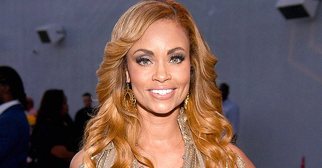 RHOP Star Gizelle Bryant Looks Stunning With Gigantic Curly Hair and a Sparkly Outfit