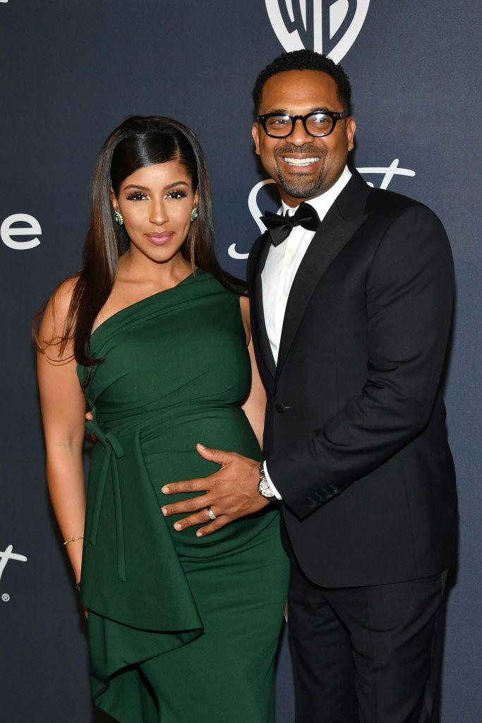 Kyra Robinson and Mike Epps at the Annual Warner Bros. and InStyle Golden Globe After Party on January 05, 2020 in Beverly Hills. | Photo: Getty Images