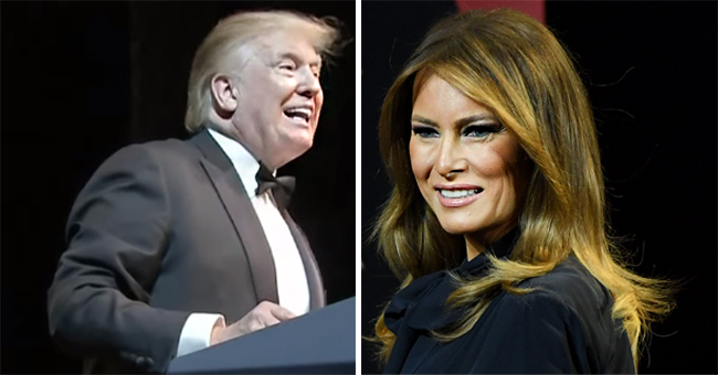 Donald Trump Generously Compliments Melania While Giving a Speech at the Ford's Theater