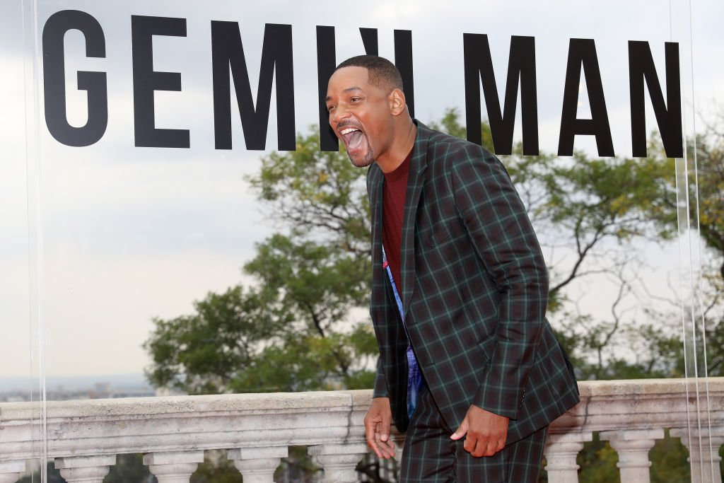"Will Smith meets fans at the Paramount Pictures, Skydance and Jerry Bruckheimer Films ""Gemini Man"" Budapest red carpet at Buda Castle Savoy Terrace in Budapest, Hungary 