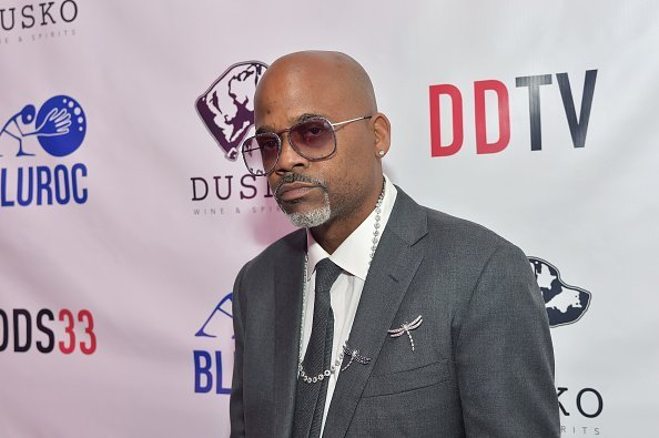 Damon Dash attends Damon Dash Celebrates the Launch of Dame Dash Studios at DDS33 on April 3, 2019 in Burbank, California | Photo: Getty Images