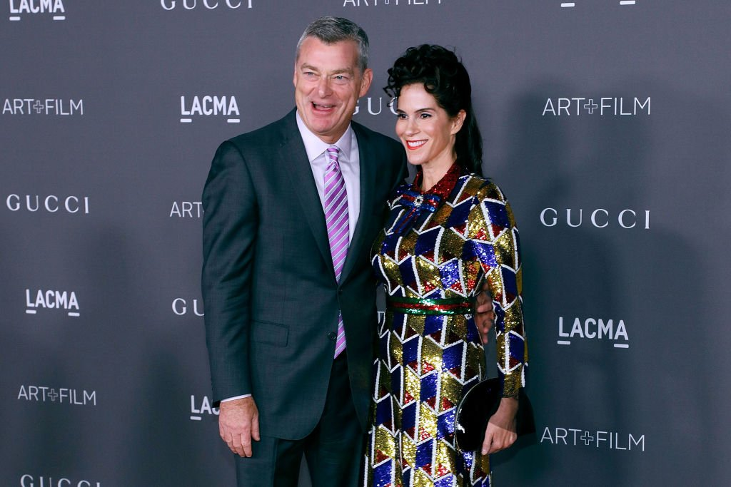 Antony Ressler and Jami Gertz at the 2017 LACMA Art + Film Gala Honoring Mark Bradford and George Lucas on November 4, 2017 in Los Angeles, California | Photo: Getty Images