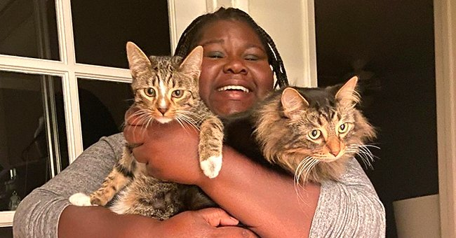 'Empire' Star Gabby Sidibe's Fiancé Warms Hearts with a Photo of Her Hugging Their Fluffy Cats