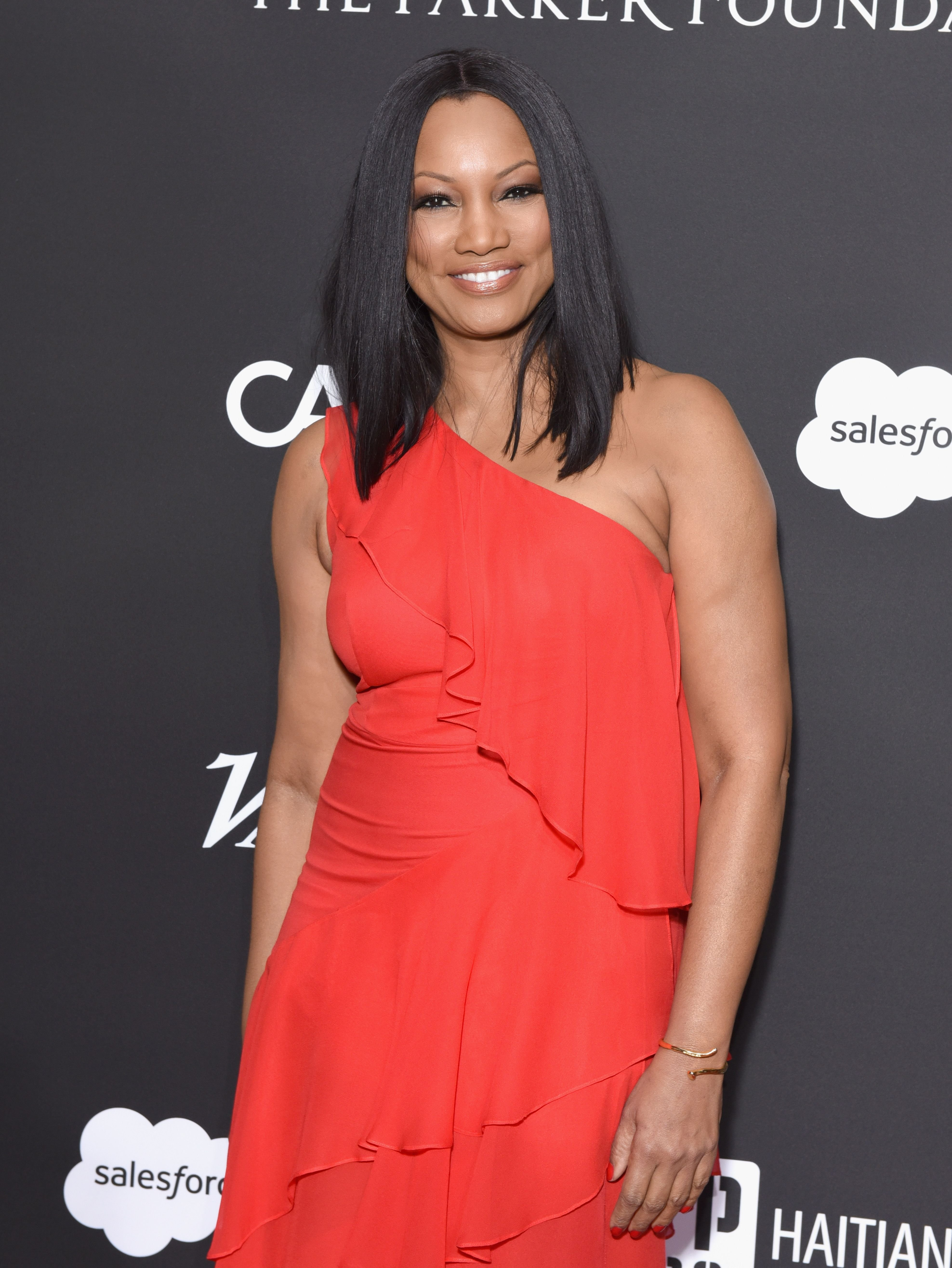 Garcelle Beauvais at the 7th Annual Sean Penn & Friends HAITI RISING Gala on January 6, 2018 in Hollywood, California.   Source: Getty Images