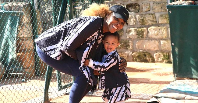 Serena Williams Shares Cute Selfie with Look-Alike Daughter Olympia — This One Will Melt Hearts