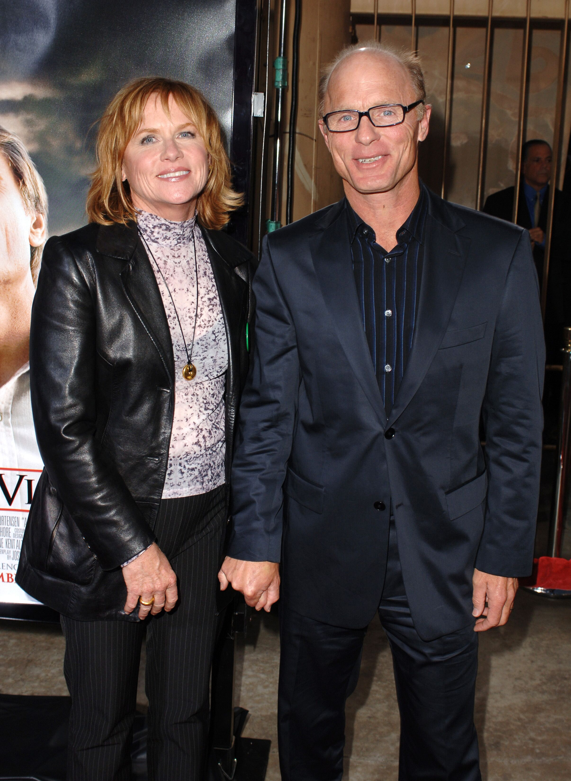 "Amy Madigan and Ed Harris at the  Los Angeles Premiere of  ""A History of Violence"" 