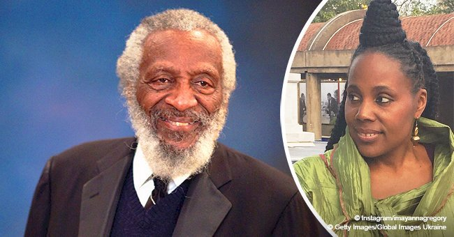 Remember comedian Dick Gregory? His daughter Ayanna looks a lot like him & has great singing skills