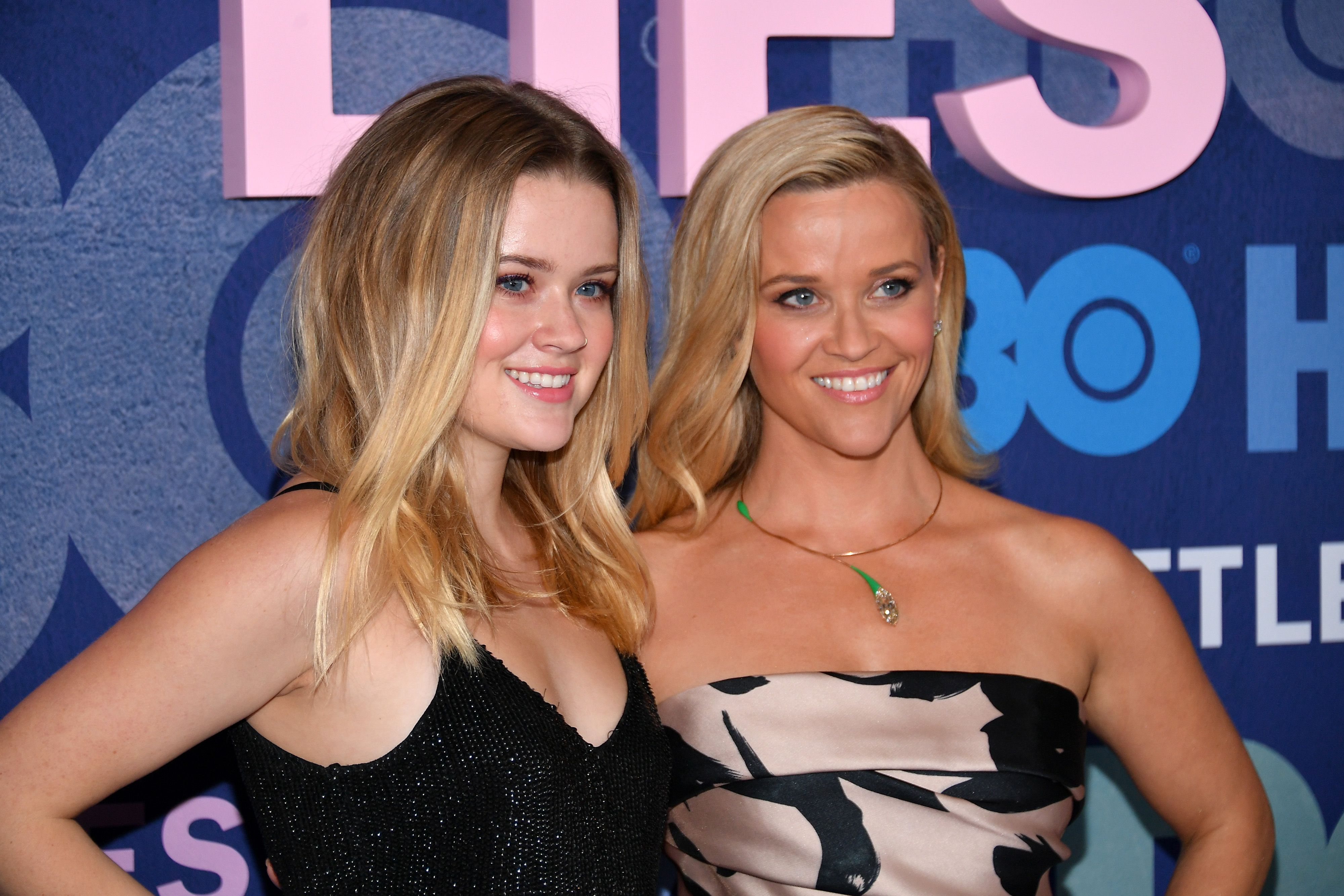 """Ava and Reese Witherspoon at the """"Big Little Lies"""" Season 2 premiere at Jazz at Lincoln Center in New York City 