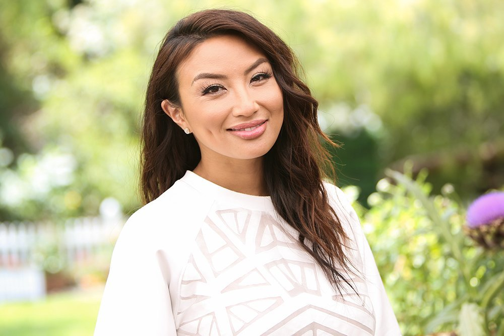 "Jeannie Mai visits Hallmark's ""Home & Family"" on June 11, 2019 at Universal Studios Hollywood. 