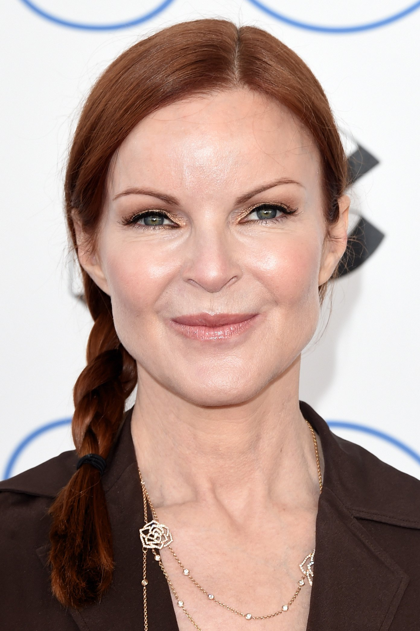 Marcia Cross attends the 2015 Film Independent Spirit Awards at Santa Monica Beach on February 21, 2015, in Santa Monica, California. | Source: Getty Images.