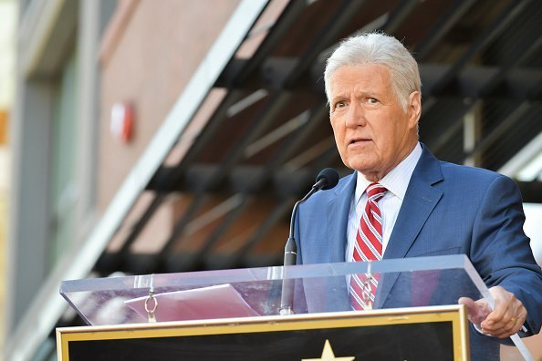 Alex Trebek at Harry Friedman Honored With A Star On The Hollywood Walk Of Fame on November 01, 2019 | Photo: Getty Images