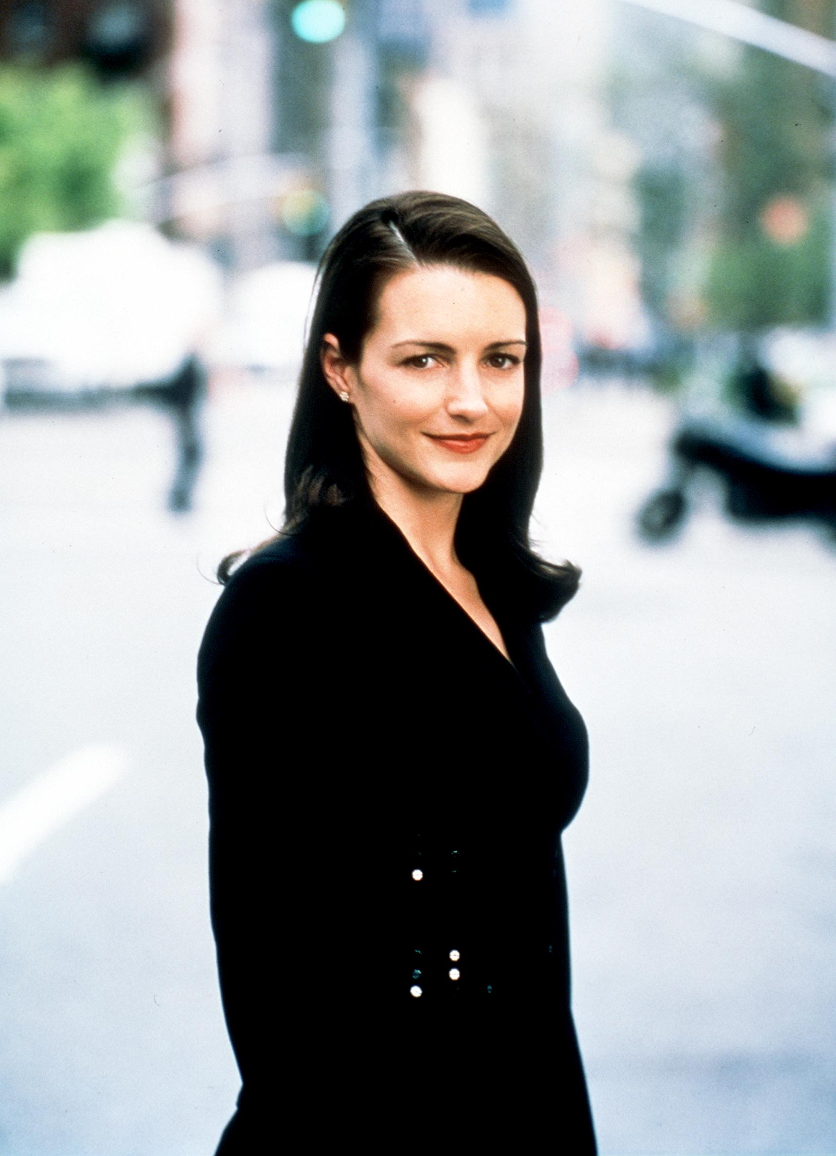 "Kristin Davis in the second season of ""Sex and the City."" 