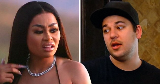 Blac Chyna Reportedly Denies Rob Kardashian's Allegations about Being Bad Influence on Their Daughter Dream
