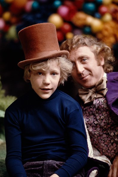 Gene Wilder as Willy Wonka and Peter Ostrum as Charlie Bucket on the set of the fantasy film 'Willy Wonka & the Chocolate Factory', based on the book by Roald Dahl, 1971 | Photo: GettyImages