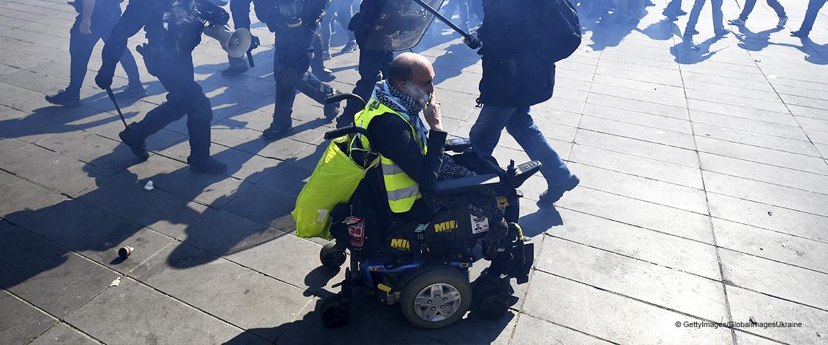 Un gilet jaune condamné après avoir crié des propos violents aux policiers