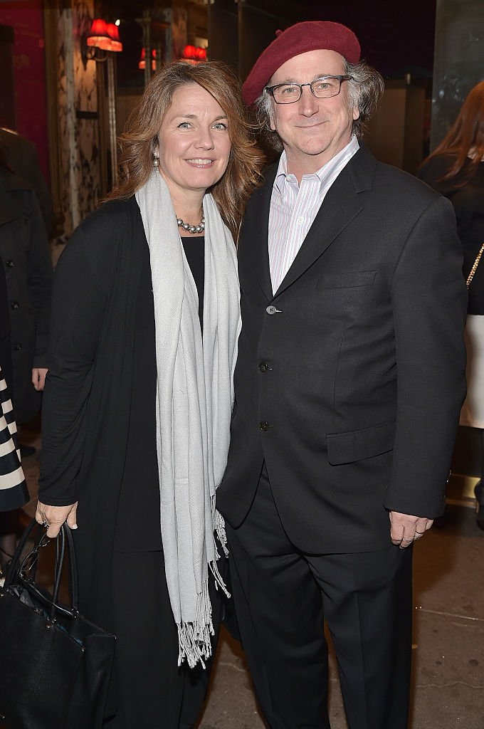 """Christa Justus and Mark Linn-Baker attend the opening night of """"She Loves Me"""" on Broadway at Studio 54 on March 17, 2016 