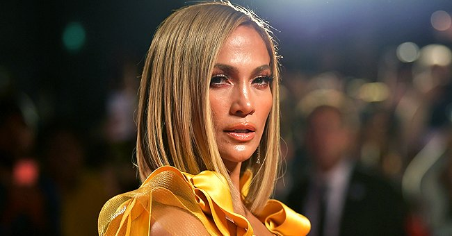 J Lo, 51, Flaunts Chic Baby Hairstyle in a White Crop Top & Black Leather Pants (Photos)