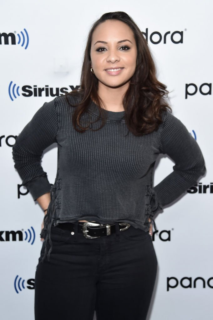 Jasmine Cephas Jones visits SiriusXM Studios on November 21, 2019 in New York City. | Source: Getty Images