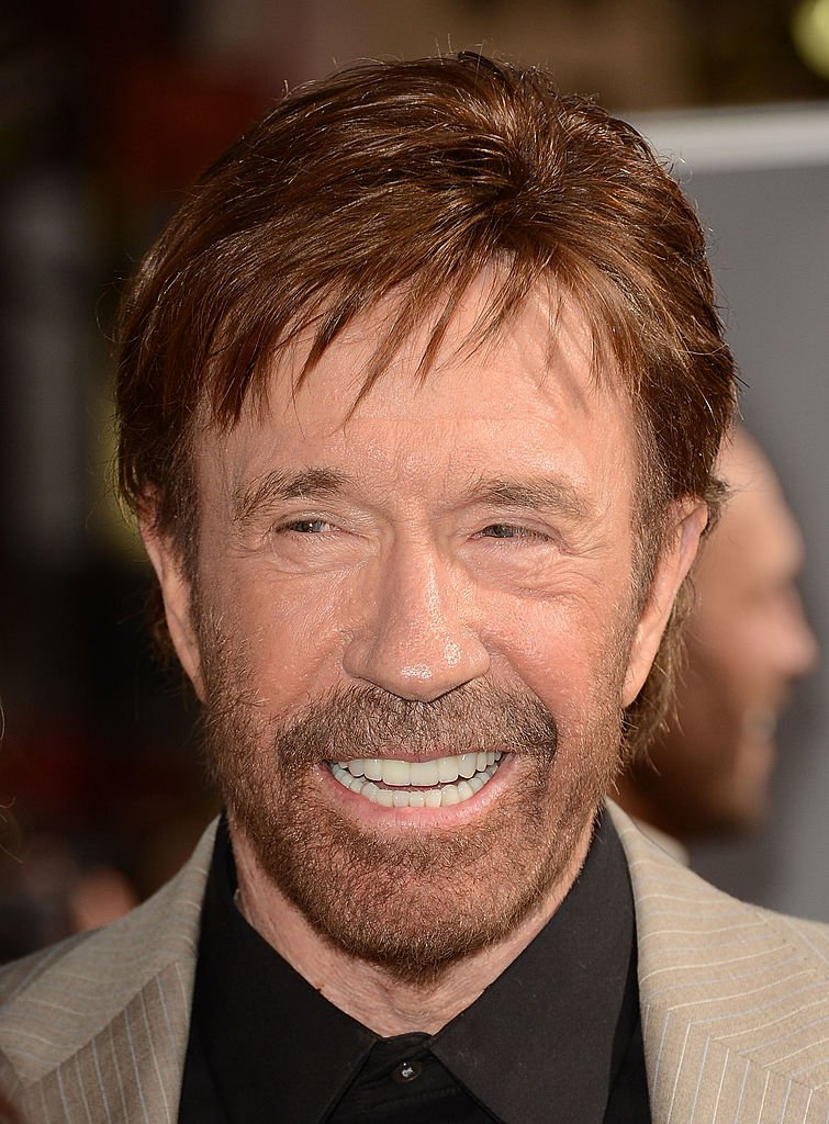Chuck Norris.| Fuente: Getty Images