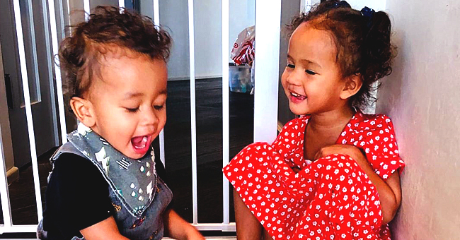 Chrissy Teigen of 'Lip Sync Battle' Shares Cute & Hilarious Pic of Her Kids Luna & Miles