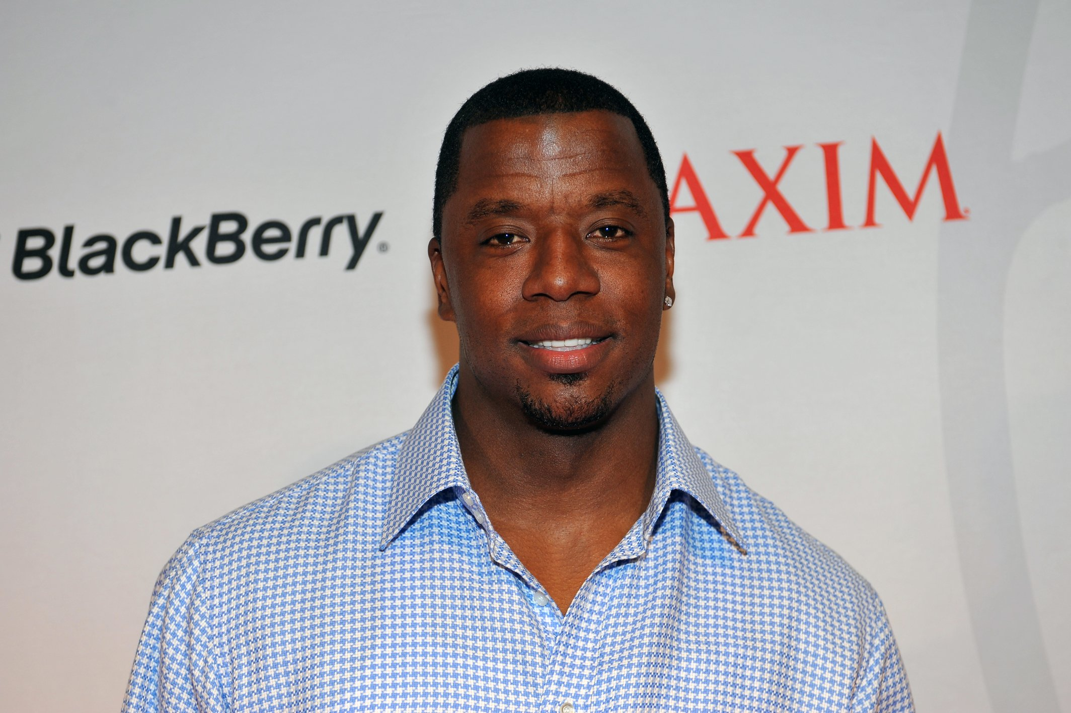Kordell Stewart attends the Maxim Blackberry Madness Event on April 6, 2013 in Atlanta, Georgia | Photo by Moses Robinson/WireImage/GettyImages