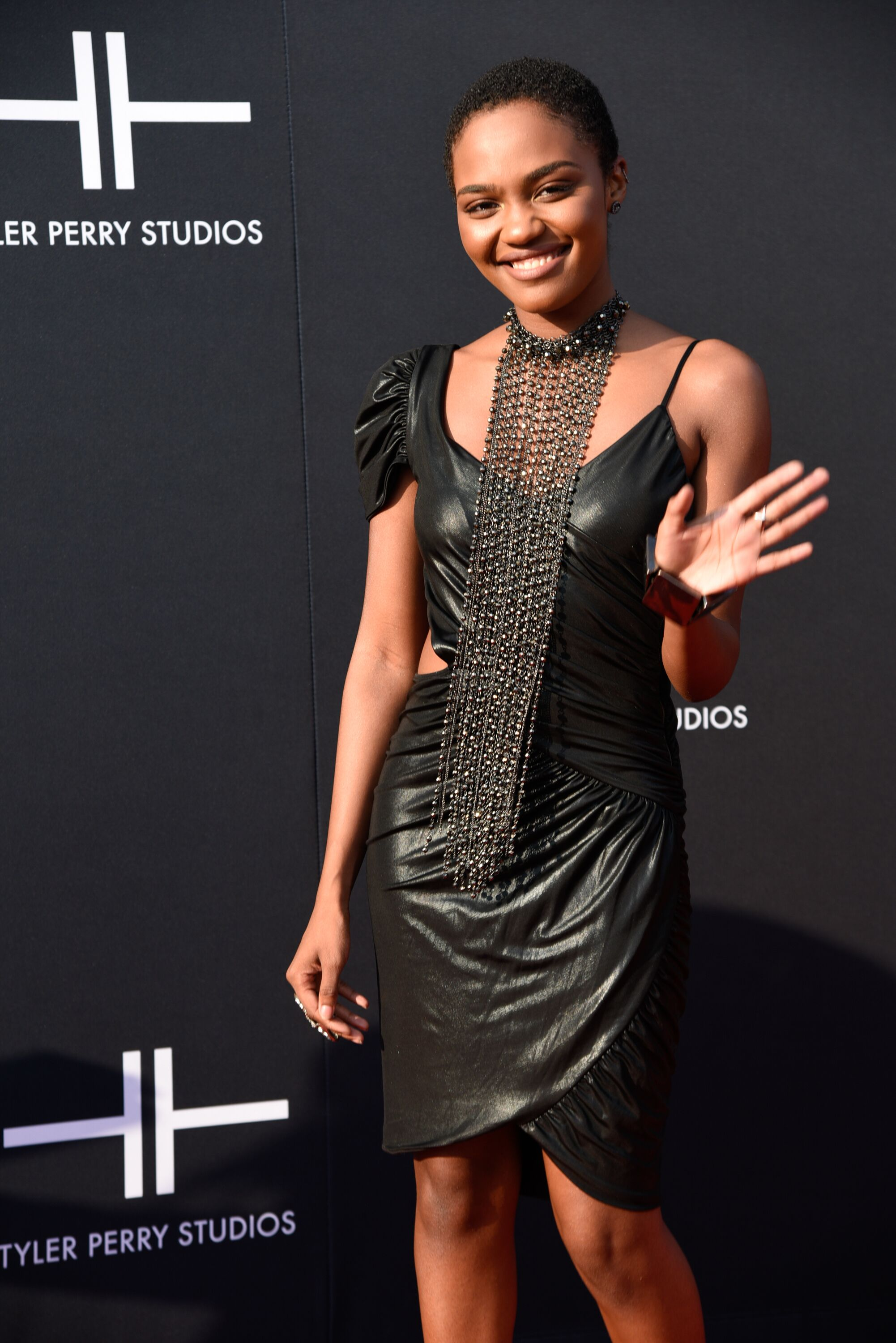 China McClain attends the Tyler Perry Studio Grand Gala | Source: Getty Images/GlobalImagesUkraine