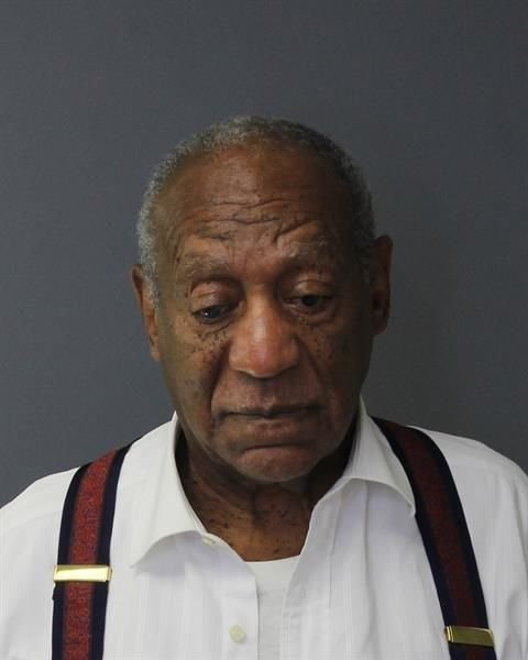 In this handout image provided by the Montgomery County Correctional Facility, Bill Cosby poses for a mugshot | Photo: Getty Images