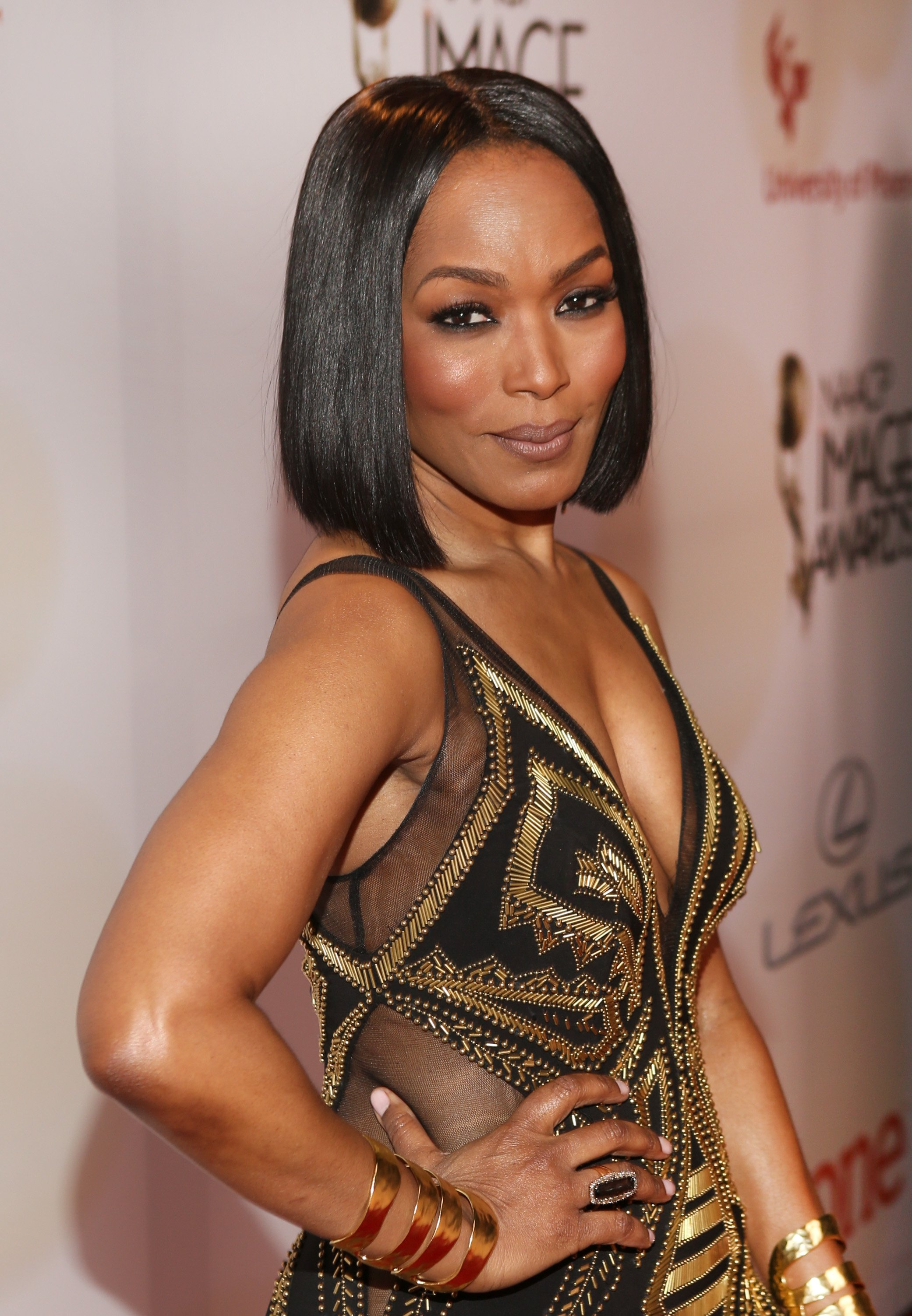 Actress/director Angela Bassett attends the 46th NAACP Image Awards presented by TV One at Pasadena Civic Auditorium on February 6, 2015| Photo: Getty Images