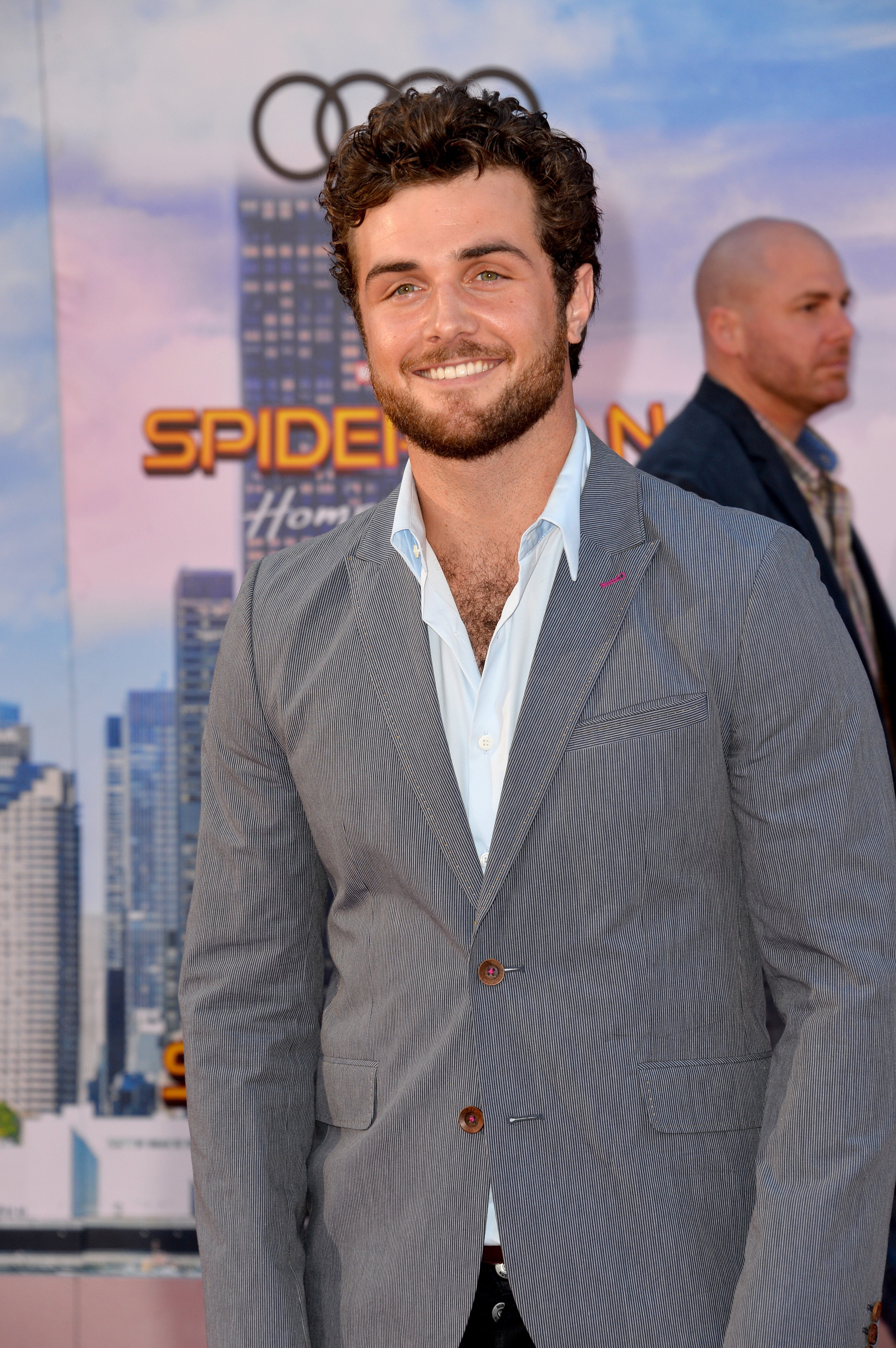 """Beau Mirchoff at the world premiere of """"Spider-Man: Homecoming"""" at the TCL Chinese Theatre in Hollywood, Los Angeles on June 28, 2017   Photo: Shutterstock/Jaguar PS"""