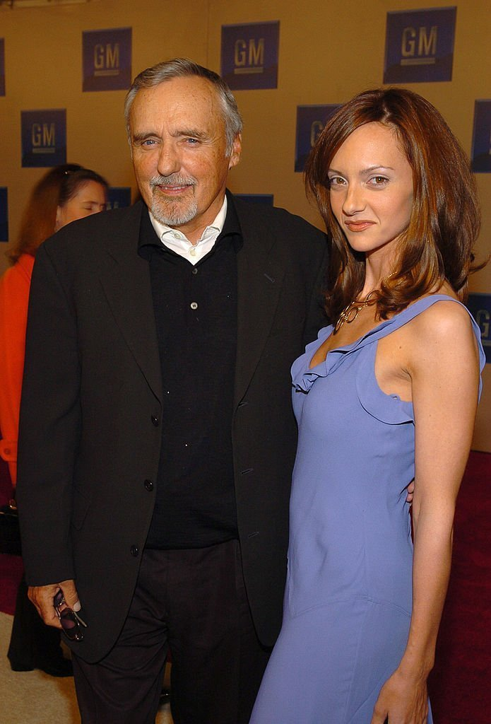 Dennis Hopper and Victoria Duffy during TEN - GM Rocks Award Season With Cars, Stars and Fashion - Red Carpet. | Source: Getty Images