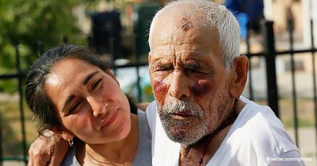 15 Jahre Haft für Frau die Kiefer eines 92-jährigen Mannes mit Ziegelstein brach