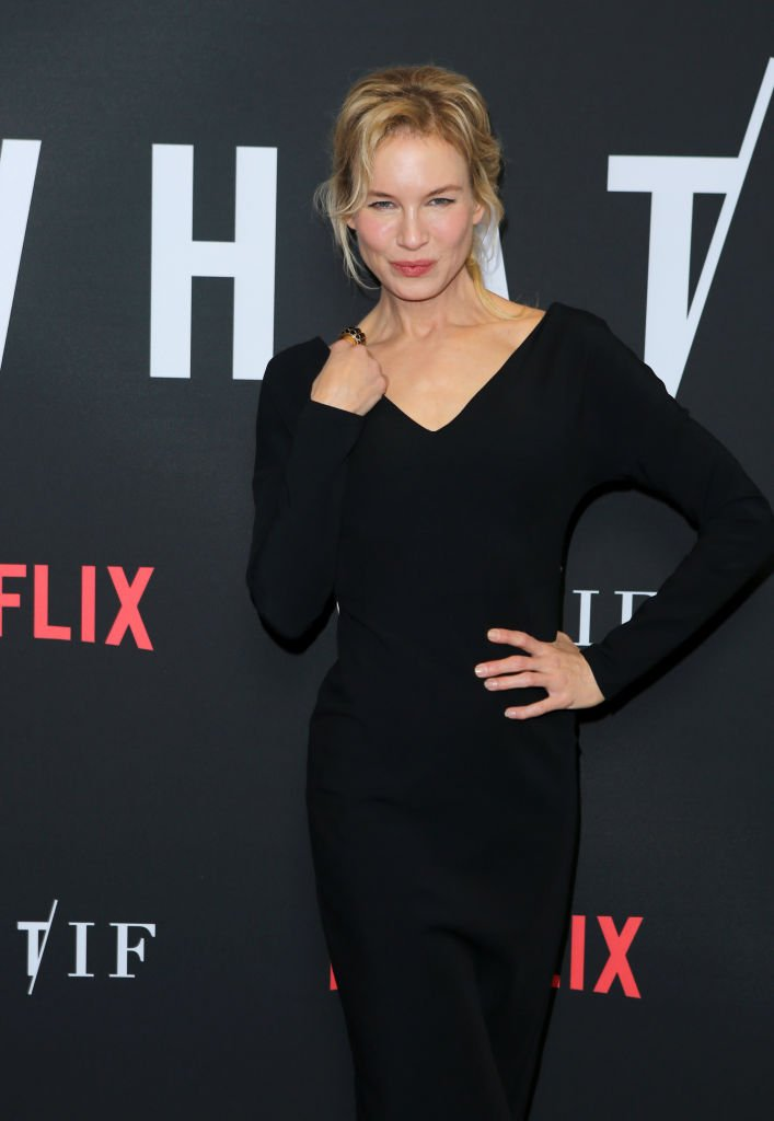 "Renée Zellweger en el estreno de ""What/If"" de Netflix en The London el 16 de mayo de 2019 en West Hollywood, California. 
