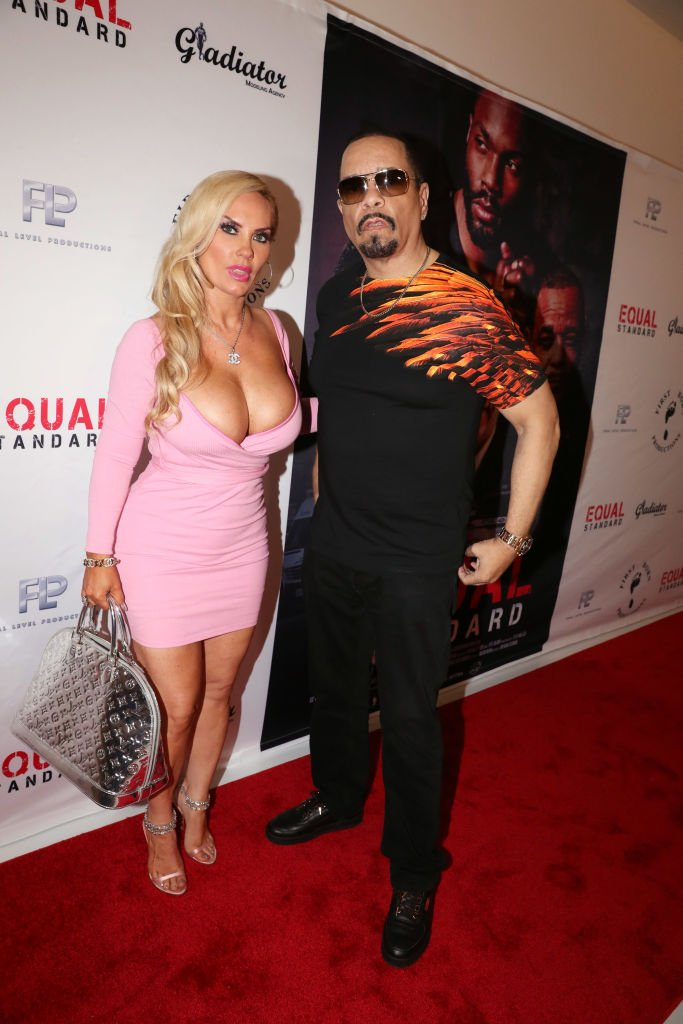 """Coco Austin (L) and Ice-T attend the """"Equal Standards"""" New York Screening at Museum of the Moving Image,2019