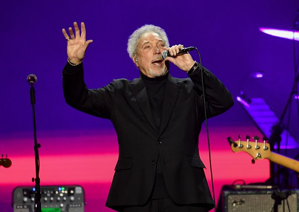 Sir Tom Jones at The O2 Arena on March 3, 2020 in London, England. | Photo: Getty Images