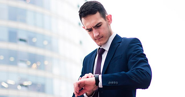 Daily Joke: Man Whose Watch Has Stopped Is Afraid to Be Late for a Meeting
