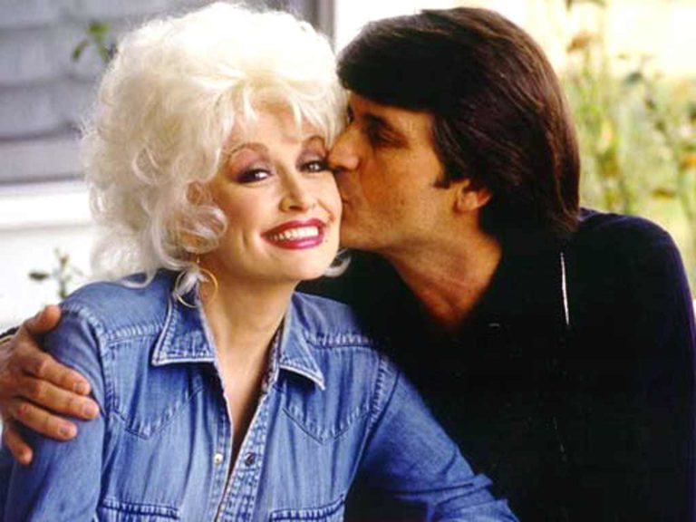 Dolly Parton and her husband, Carl Dean. Image credit: Dolly Parton's official website.