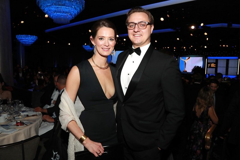 Kate A. Shaw and Chris Hayes on February 17, 2019 in Beverly Hills, California   Photo: Getty Images