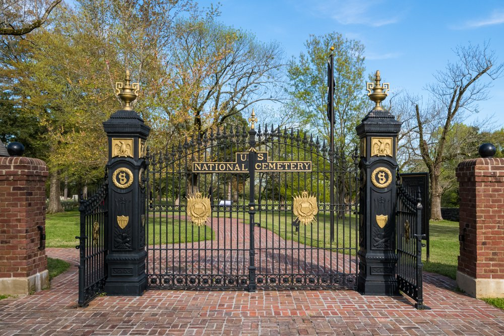 A photo of a cemetery gate | Photo: Shutterstock