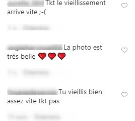 Les commentaires des internautes sur la photo de Ilona Smet. | Photo : Instagram/ilonasmet