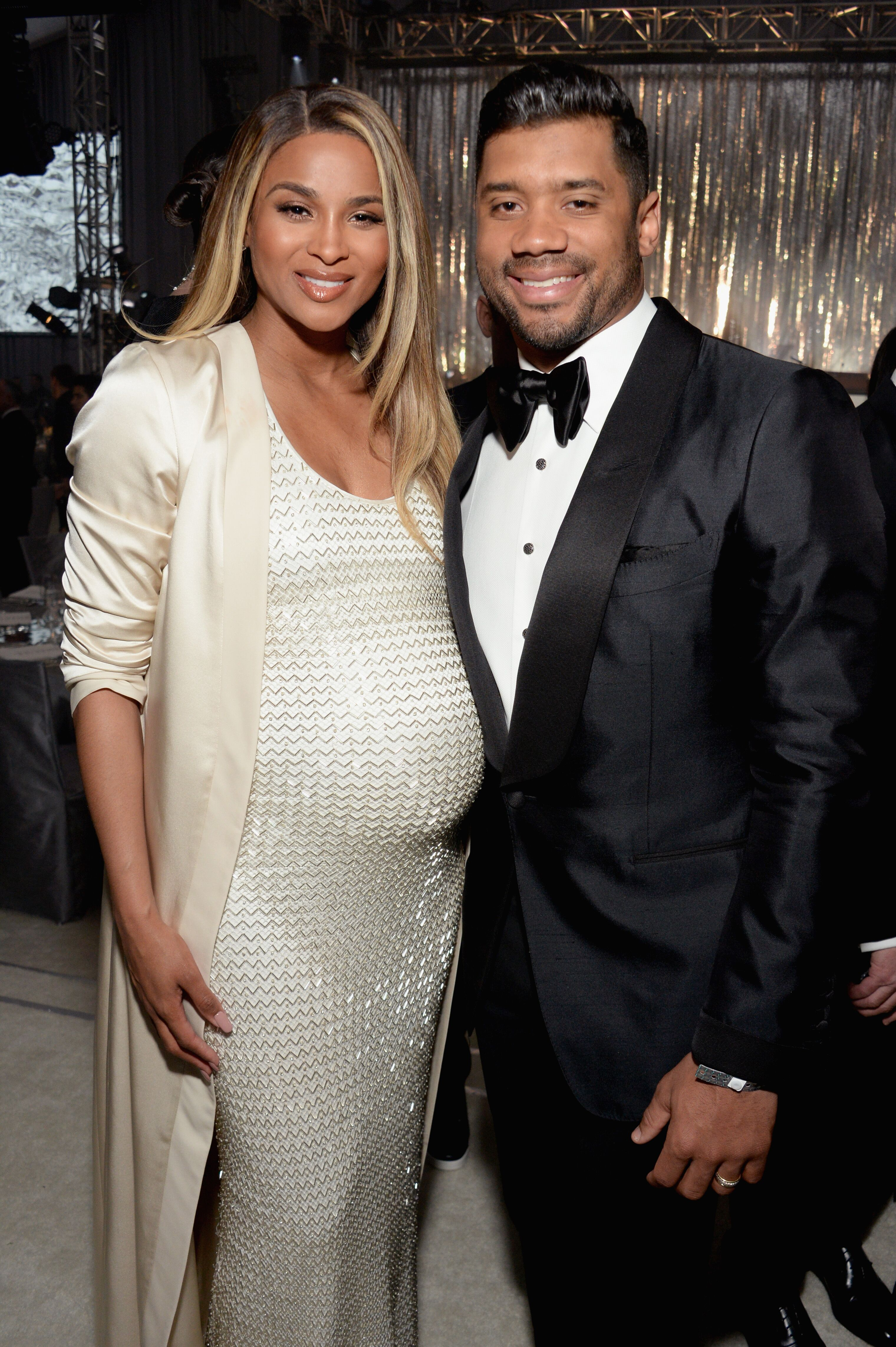 Ciara and Russell Wilson attends the 25th Annual Elton John AIDS Foundation's Academy Awards Viewing Party on February 26, 2017 in West Hollywood, California | Photo: Getty Images