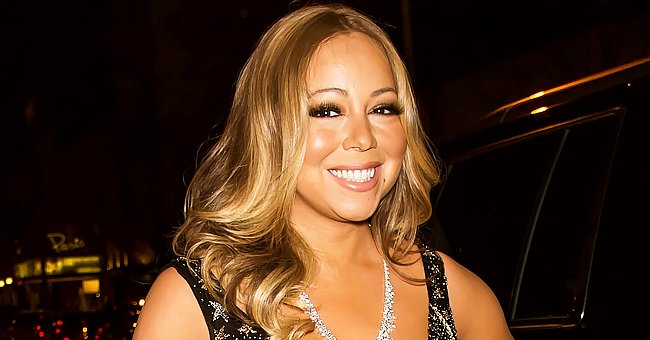 Mariah Carey Poses with Look-Alike Curly-Haired Twin Son in Matching Pajamas