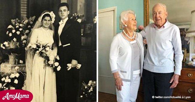 Un couple français raconte le secret d'un mariage heureux à l'occasion de leur 70ème anniversaire de mariage