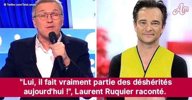 Gilets jaunes: Laurent Ruquier se met en colère et s'attaque en direct à David Hallyday (Vidéo)