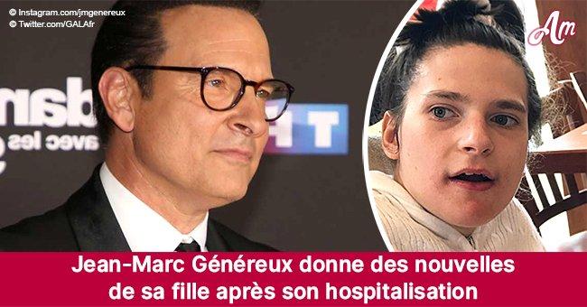 La fille handicapée de Jean-Marc Généreux hospitalisée d'urgence: il donne des nouvelles