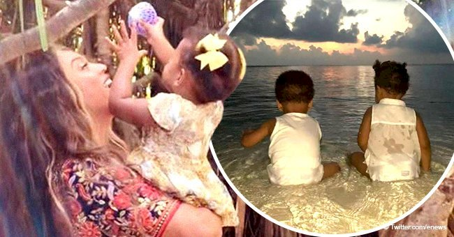 Beyoncé steals hearts with rare photos of her growing twins Sir & Rumi during their trip to India