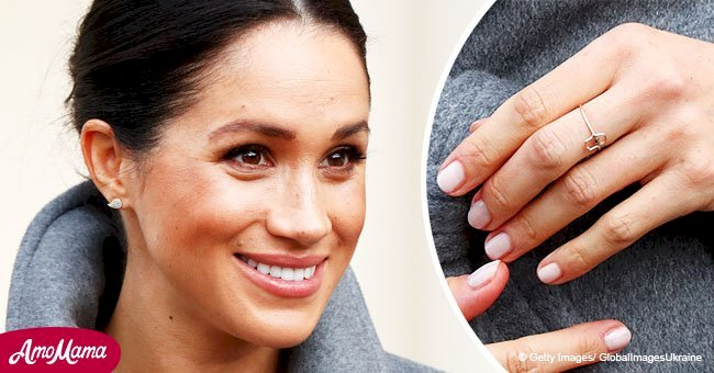 Secret meaning behind Meghan Markle's new gold ring containing an eye with a blue sapphire