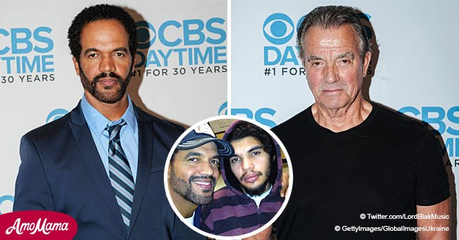 Kristoff St. John 'deeply wounded' by son's suicide before death, his costar Eric Braeden said
