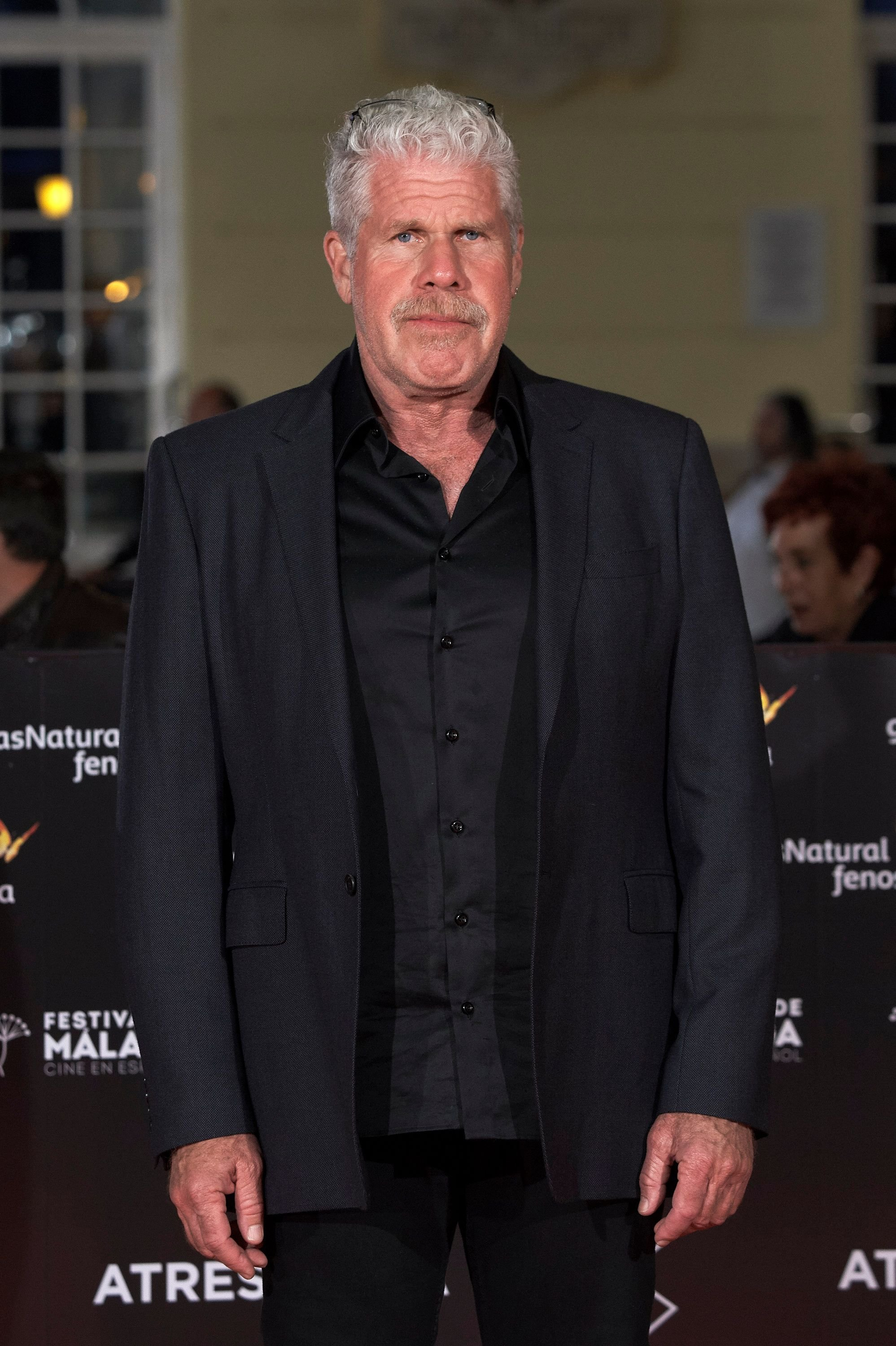 Ron Perlman attends 'No Dormiras' premiere at the Cervantes Theater on April 15, 2018 in Malaga, Spain. | Source: Getty Images