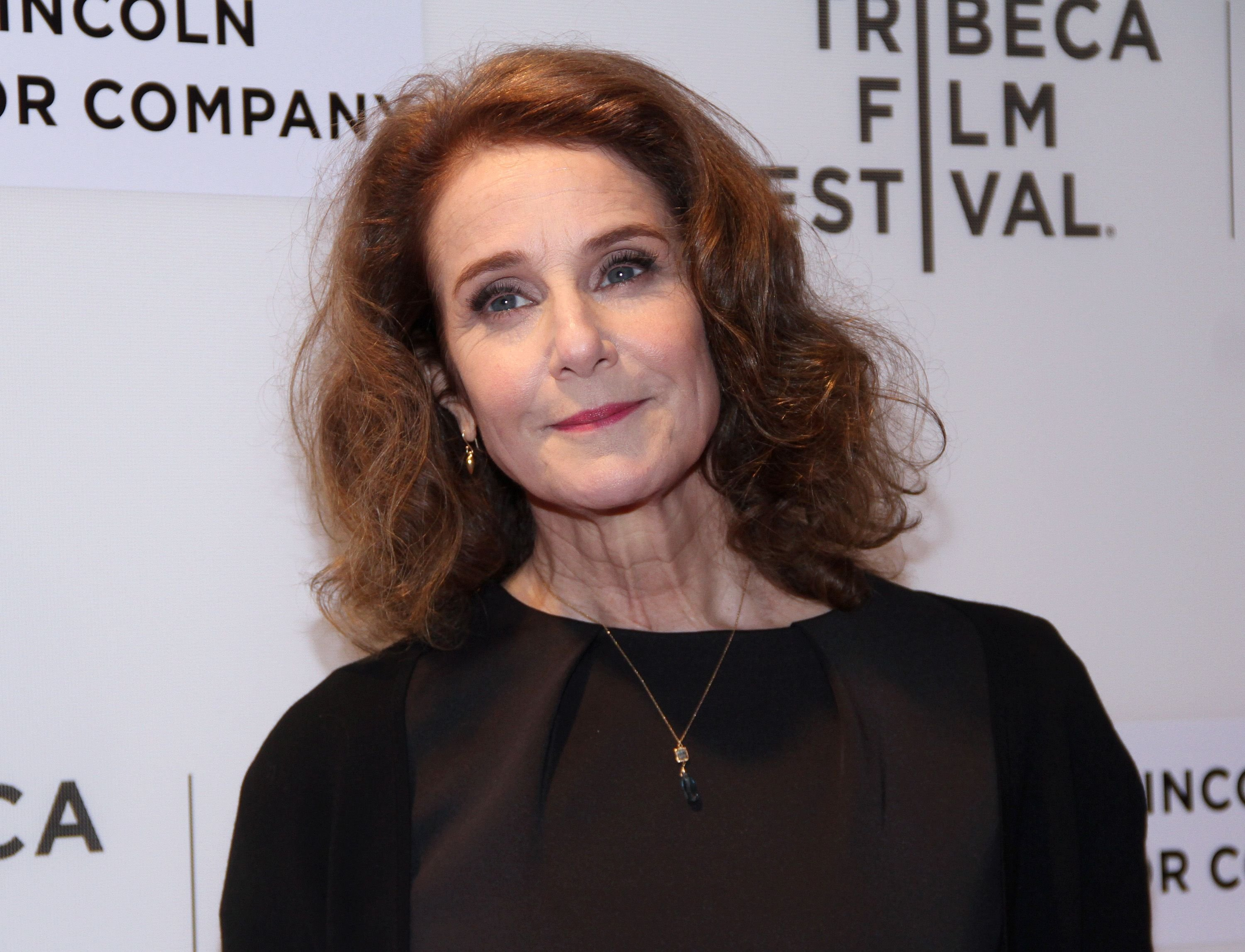 """Debra Winger at the """"The Lovers"""" premiere at BMCC Tribeca PAC on April 22, 2017 in New York City 