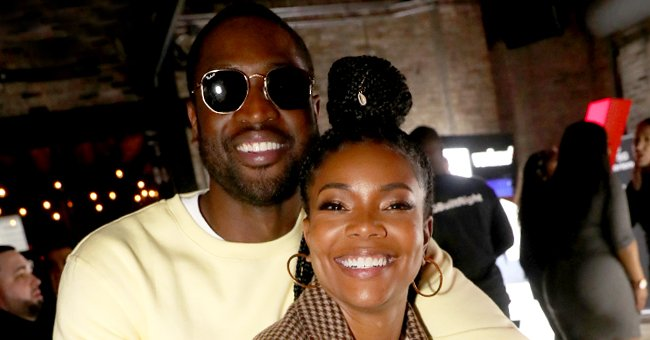 Gabrielle Union & Dwyane Wade's Daughter Is All Smiles Sitting in a Jacuzzi With Her Friend